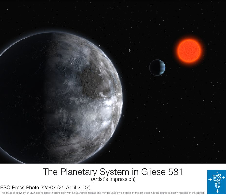 location planet gliese - photo #9